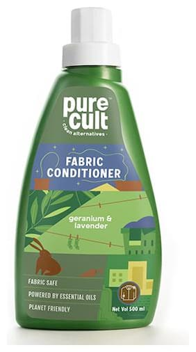 PureCult fabric conditioner infused with Geranium & Lavender essential oil 500ml