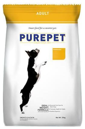 Purepet Dog Food - Smoked Chicken  Adult 20 kg