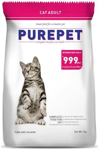 Purepet Tuna And Salmon Cat Adult 7 kg