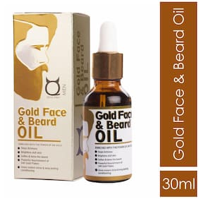 QRAA 24k Gold Face and Beard Oil 30 ml (Pack Of 1)