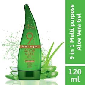 Qraa 9 in 1 Aloe Vera Gel 120 ml (Pack Of 1)