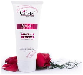 Qraa Malai Cleanzer(Make-Up-Remover) 100gm