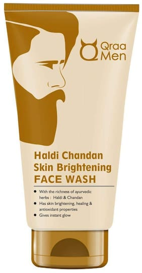 Qraa Men Haldi Chandan Face Wash 100 g