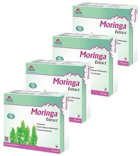 Quantum Naturals Moringa Extract - 500mg - 30 Capsules Pack of 4
