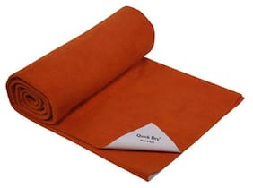 Quick Dry Baby Bed Protector - Plain Print, Toffee 1 pc