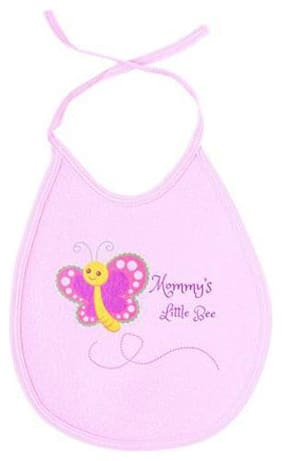 Quick Dry Babies Bib - Butterfly Print  Assorted Colours 4 pcs