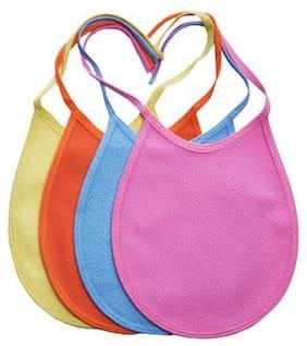 Quick Dry Babies Bibs - Assorted Colours 4 pcs