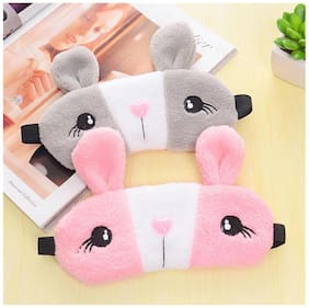 Rabbit cold and hot double protection eye care cooling mask