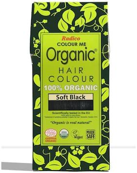 Radico Colour Me Organic Hair Colour - Soft Black (100 g)