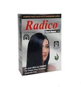 Radico Herbal Hair Colour Powder -Natural Black (60 g)