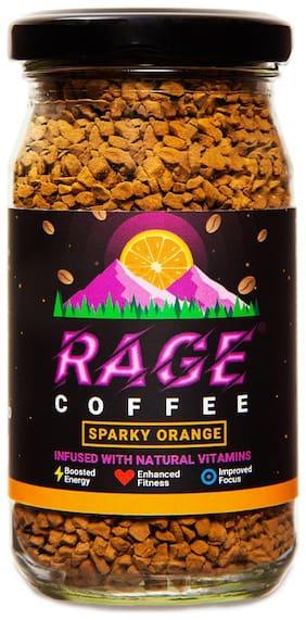 Rage Coffee 50 Gms Sparky Orange Flavour - Premium Arabica Instant Coffee
