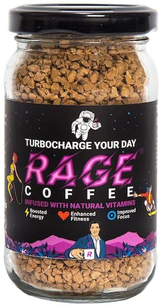 Rage Coffee Original Blend Premium Arabica Instant Coffee 50 g ( Pack of 1 )