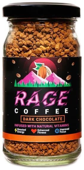 Rage Coffee 50 Gms Dark Chocolate Flavour - Premium Arabica Instant Coffee