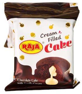 Raja Cream Filled Choco Cake, 20 g