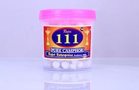Rajvi 111 Pure Camphor 50 g (Pack of 4)
