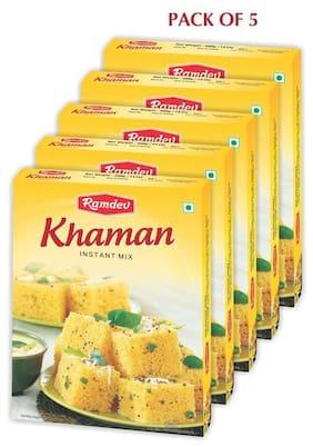 Ramdev Khaman Instant Mix 400 g (Pack of 5)