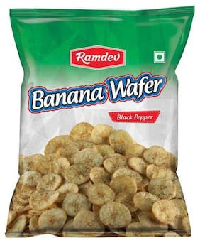 Ramdev Wafer - Banana, Black Pepper 40 gm
