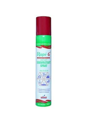 Rapi G Advance Instant Disinfectant Spray- Sterilizer Multi Purpose 100ml (Pack of 5)