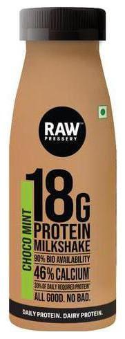 Raw Pressery Protein Milkshake - Choco Mint 200 ml