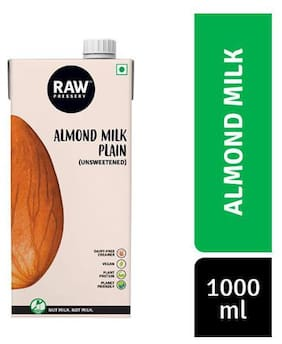 Raw Pressery Almond Milk - Unsweetened 1 L