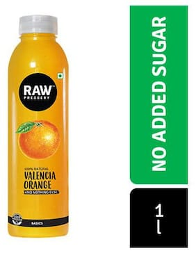 Raw Pressery Cold Pressed Juice Orange 1 L