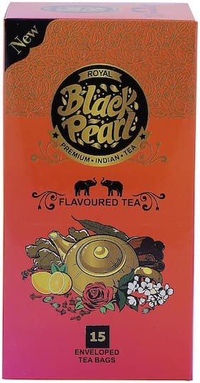 Royal Black Pearl (Heritage Blend) Earl Grey Black Tea - 15 Tea Bags