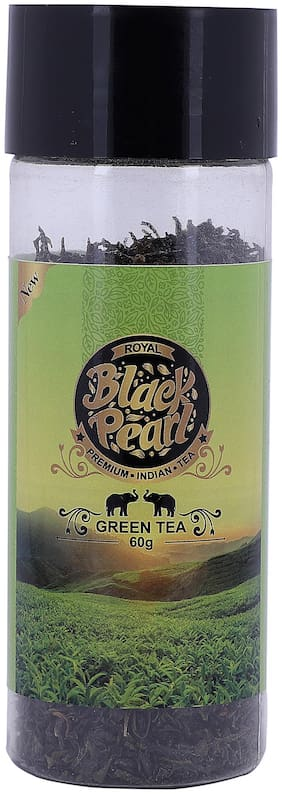 Royal Black Pearl (Heritage Blend)  Exotic Ranipukhuri Full Leaf Green Tea 60 gm