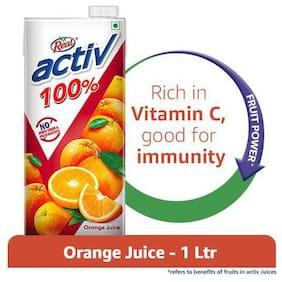 Real Activ Juice Orange  With No Added Sugar 1 L