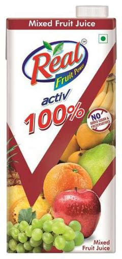 Real Activ Mixed Fruit Juice with No Added Sugar 1 L