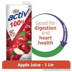 Real Activ Juice - Apple, with No Added Sugar 1 L