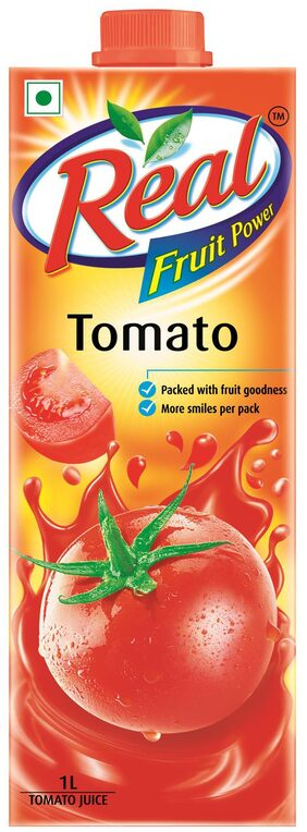 REAL FRUIT POWER TOMATO 1L PACK OF 2