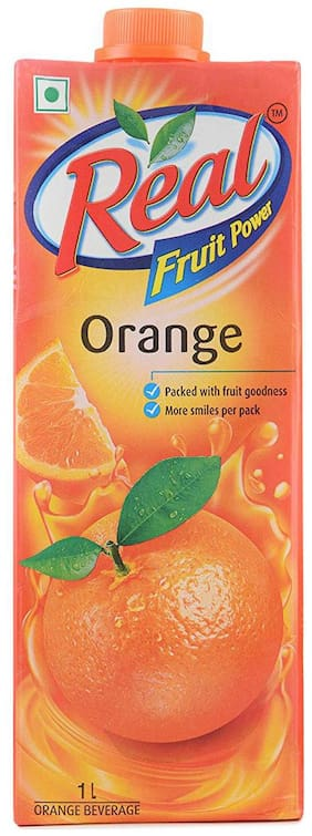 Real Juice - Fruit Power  Orange/Santra 1 L