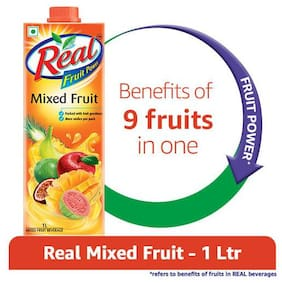 Real Juice - Fruit Power  Mixed Fruits 1 L