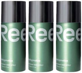 Reebok Reehypnotise Deo 150 ml (Pack of 3)