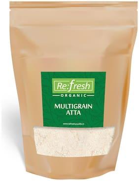 Refresh Organic Multigrain Atta 1 Kg (Pack Of 1)