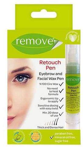 remove Retouch Eyebrow & Facial Wax Pen - Thick & Dense Hair, 1 pc