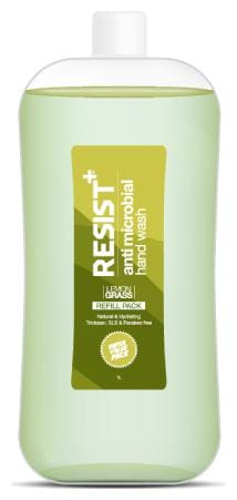 Resist+ Antimicrobial Hand Wash Contains Vitamin E & B5 Refill Pack 1L