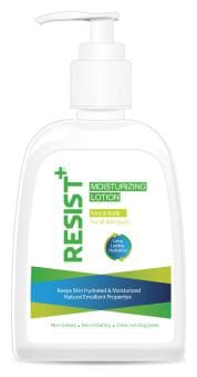 Resist+ Moisturizing Lotion with Vitamin E & B5, for face & body 450g