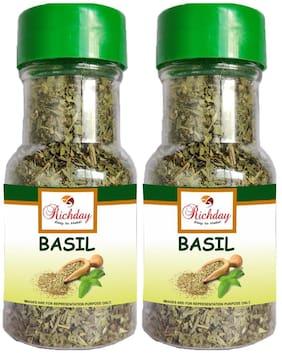 Richday Basil Sprinkler Pack Of 2 (75 g Each)