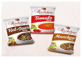RICHDAY Instant Soup [Combo of 3 Instant Soup 500gms each]