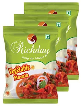 Richday Vegetable Masala(100g) - Pack Of 3