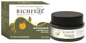 Richfeel Anti Acne Pack 50 gm