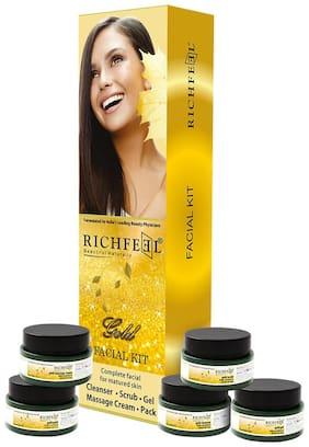 Richfeel Gold Facial Kit 5x50 gm