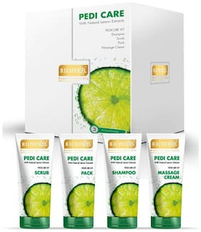 Richfeel Pedi Care With Natural Lemon Etracts (3 Appilcations)