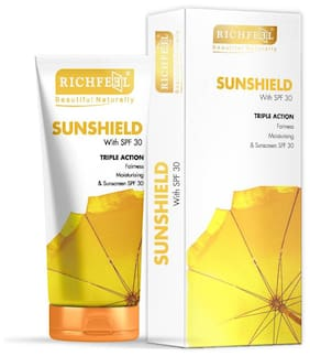 Richfeel Sunshield With Spf-30 100 gm