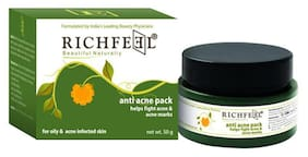 Richfeell Anti Acne Pack (50 gm)