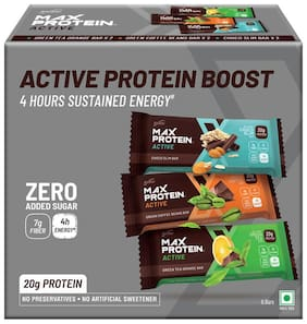 RiteBite Max Protein Active Assorted Bars 414g