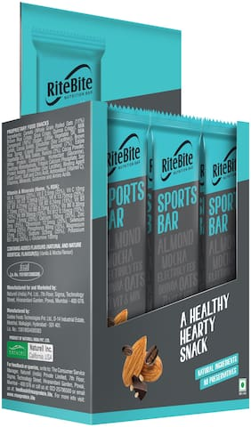 RiteBite Sports Bar 480g - Pack of 12