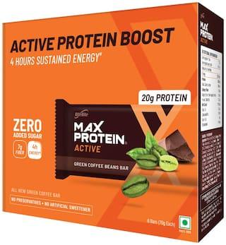RiteBite Max Protein Active Green Coffee Beans Bars 420g