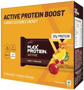 RiteBite Max Protein Active Honey Lemon Bars 420g